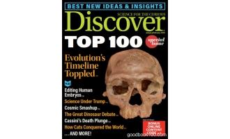 发现_Discover_2018年合集高清PDF杂志电子版百度盘下载共10本