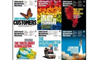 哈佛商业评论_Harvard Business Review_2017年合集高清PDF杂志电子版百度盘下载 共6本