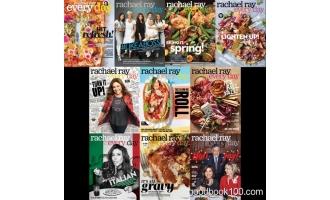 美食健康类杂志_Rachael Ray Every Day_2018年合集高清PDF杂志电子版百度盘下载 共10本