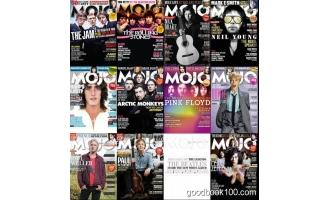 音乐类杂志_Mojo_2018年合集高清PDF杂志电子版百度盘下载 共12本