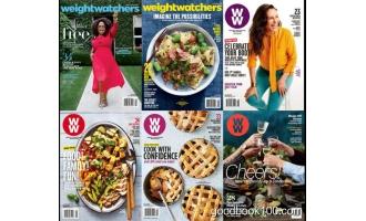 健康饮食运动类杂志_Weight Watchers USA_2018年合集高清PDF杂志电子版百度盘下载 共6本