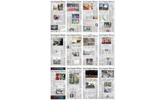 洛杉矶时报_Los Angeles Times_2018年合集高清PDF杂志电子版百度盘下载 共358本 10.75G