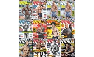 健身杂志_Muscle and Fitness_2019年合集高清PDF杂志电子版百度盘下载 共12本 591MB