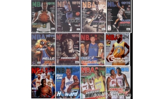 NBA特刊_2011年合集高清PDF杂志电子版百度盘下载 共12本 634MB