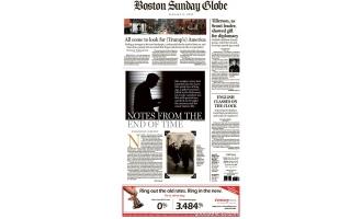 波士顿环球报_The Boston Globe_2017年合集高清PDF杂志电子版百度盘下载 共350本