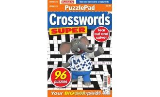 PuzzleLife PuzzlePad Crosswords Super 总期数 23 2月刊 2020年高清PDF电子杂志下载英文原版 53MB