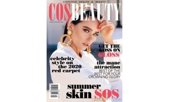 CosBeauty Magazine 2月刊 2020年高清PDF电子杂志下载英文原版 81MB