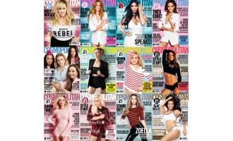 时尚杂志英国版_Cosmopolitan UK_2016年合集共12本PDF杂志电子版百度云下载