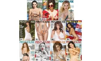 阁楼美国版_Penthouse USA_2016年合集共11本PDF杂志电子版百度盘下载