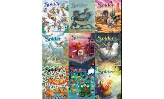 儿童、青少年杂志Spider_2016年合集PDF杂志电子版百度盘下载