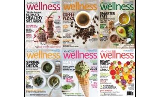 健康杂志Amazing Wellness_2016年合集高清PDF杂志电子版百度盘下载 共6本