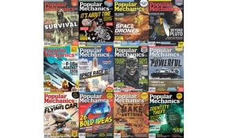 科技类杂志Popular Mechanics南非版_2016年合集高清PDF杂志电子版百度盘下载 共12本