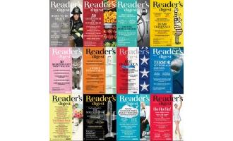 美国读者文摘_Readers Digest_2014年合集高清PDF杂志电子版百度盘下载 共12本