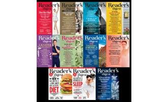 美国读者文摘_Readers Digest_2015年合集高清PDF杂志电子版百度盘下载 共11本