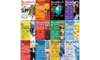 美国读者文摘国际版_Readers Digest International_2016年合集高清PDF杂志电子版百度盘下载 共12本