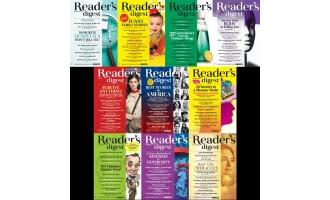 美国读者文摘_Readers Digest_2016年合集高清PDF杂志电子版百度盘下载 共10本