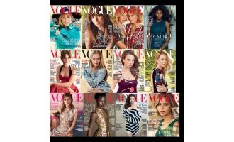 Vogue USA_2015年合集高清PDF杂志电子版百度盘下载 共12本