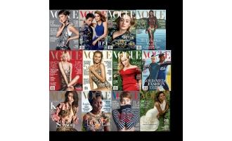 Vogue USA_2016年合集高清PDF杂志电子版百度盘下载 共12本